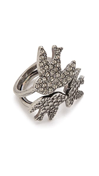Marc by Marc Jacobs Petal to the Metal Tribe Ring