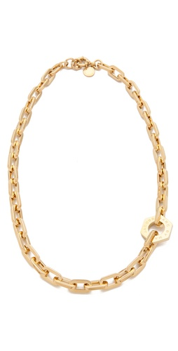 Shop Marc by Marc Jacobs Mini Link Necklace and Marc by Marc Jacobs online - Accessories,Womens,Jewelry,Necklace, online Store