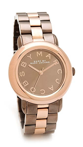 Marc by Marc Jacobs Marci Mirror Two Tone Watch
