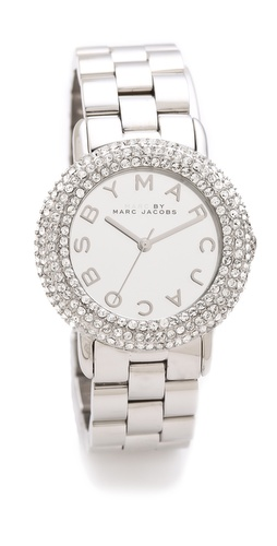 Marc by Marc Jacobs Marci Pave Watch at Shopbop.com