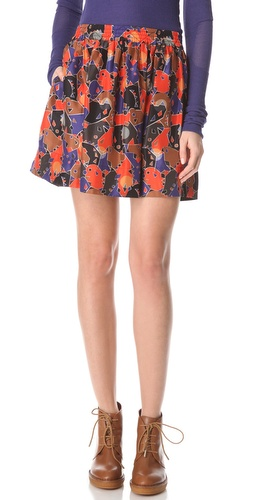 Shop Marc by Marc Jacobs Nata Camouflage Skirt and Marc by Marc Jacobs online - Apparel,Womens,Bottoms,Skirts, online Store