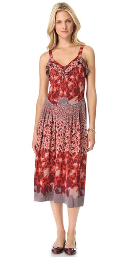Shop Marc by Marc Jacobs Camo Garden Jersey Dress and Marc by Marc Jacobs online - Apparel,Womens,Dresses,Day_to_Night, online Store