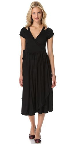 Shop Marc by Marc Jacobs Keely Jersey Tie Back Dress and Marc by Marc Jacobs online - Apparel,Womens,Dresses,Day_to_Night, online Store