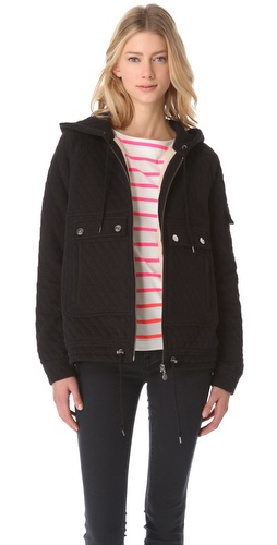 Shop Marc by Marc Jacobs Gwen Quilted Jacket and Marc by Marc Jacobs online - Apparel,Womens,Outwear,Moto,Bomber, online Store