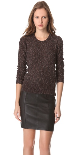 Shop Marc by Marc Jacobs Sparkle Tweed Sweater and Marc by Marc Jacobs online - Apparel,Womens,Sweaters,Pull_Over, online Store