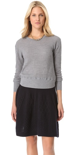 Shop Marc by Marc Jacobs Tinker Thermal Sweater and Marc by Marc Jacobs online - Apparel,Womens,Sweaters,Pull_Over, online Store