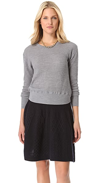 Marc by Marc Jacobs Tinker Thermal Sweater