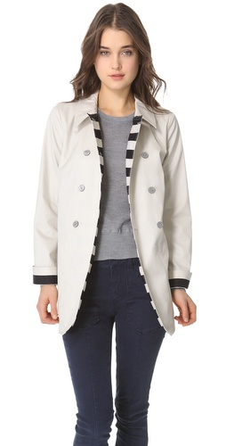 Shop Marc by Marc Jacobs Trevor Trench Coat With Belt and Marc by Marc Jacobs online - Apparel,Womens,Outwear,Trench, online Store