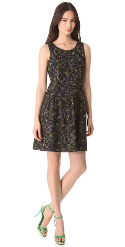 Shop Marc by Marc Jacobs Wildwood Embroidery Dress and Marc by Marc Jacobs online - Apparel,Womens,Dresses,Day_to_Night, online Store
