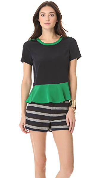 Marc by Marc Jacobs Avery Silk Blouse