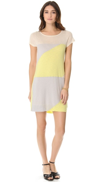 Marc by Marc Jacobs Tanya Colorblock Jersey Dress