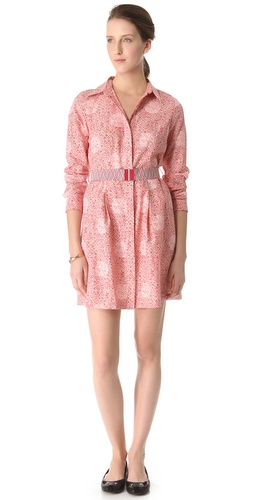 Shop Marc by Marc Jacobs Jamie Belted Trench Dress and Marc by Marc Jacobs online - Apparel,Womens,Outwear,Trench, online Store