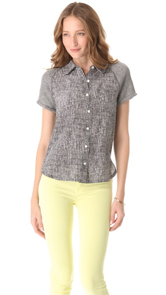 Marc by Marc Jacobs Win Loopback Terry Top