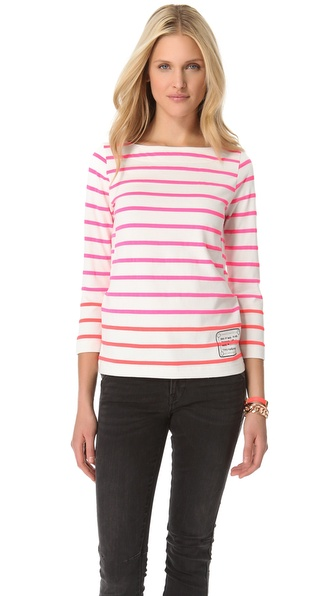 Marc by Marc Jacobs Logo Breton Tee