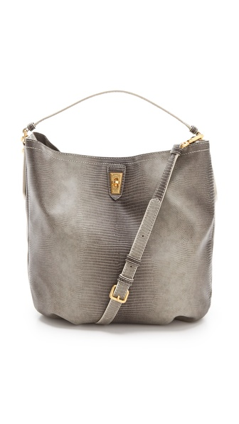 Marc by Marc Jacobs Embossed Lizzie Spotless Hobo