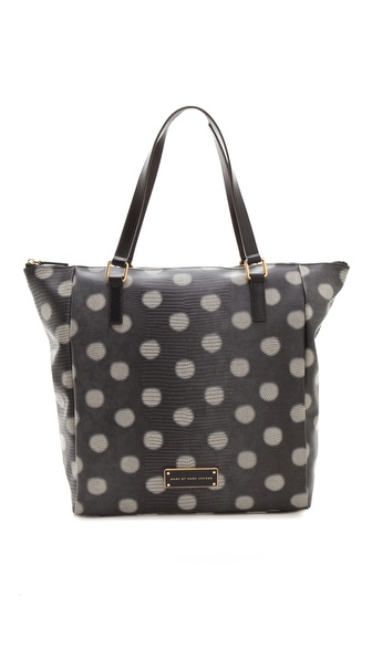 Marc by Marc Jacobs Take Me Embo Lizzie Dots Tote