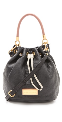 Shop Marc by Marc Jacobs Too Hot To Handle Colorblock Drawstring Bag and Marc by Marc Jacobs online - Accessories,Womens,Handbags,Bucket, online Store