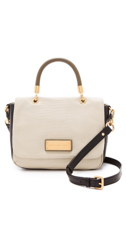 Shop Marc by Marc Jacobs Too Hot To Handle Colorblock Small Top Handle Bag and Marc by Marc Jacobs online - Accessories,Womens,Handbags,Satchel, online Store