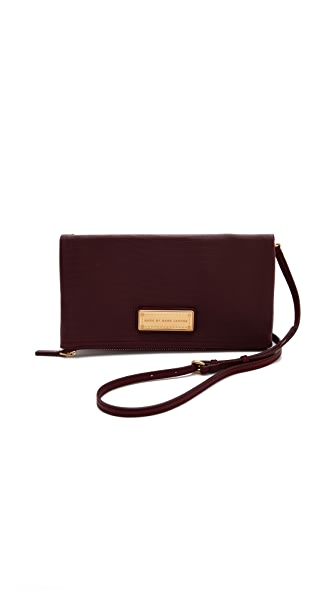Marc by Marc Jacobs Too Hot To Party Chalky Liz Fold Over Clutch
