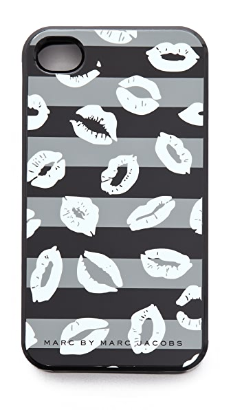Marc by Marc Jacobs Stripey Lips iPhone Case