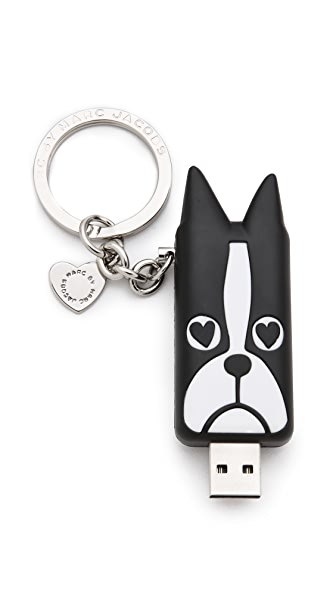 Marc by Marc Jacobs Shorty USB Keychain
