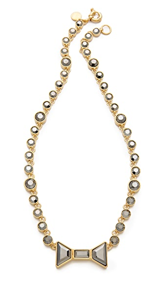 Marc by Marc Jacobs Polka Dot Bow Short Necklace