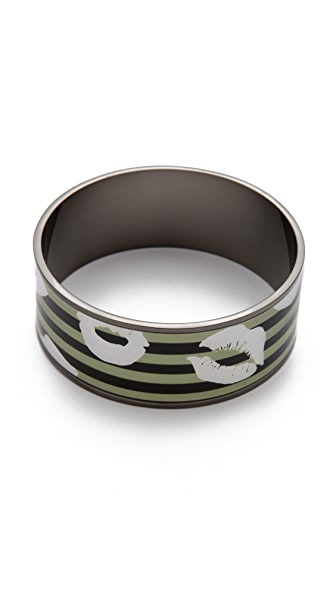 Marc by Marc Jacobs Lips Print Bangle