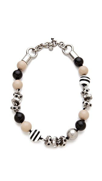 Marc by Marc Jacobs Bolts Galore Mini Bubbles Necklace