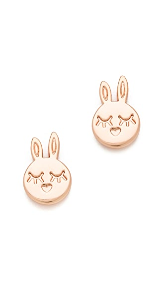 Marc by Marc Jacobs Bunny Stud Earrings