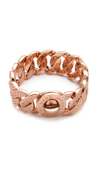 Marc by Marc Jacobs Lizard Texture Katie Bracelet