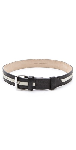 Marc by Marc Jacobs Striped Classic Belt at Shopbop.com