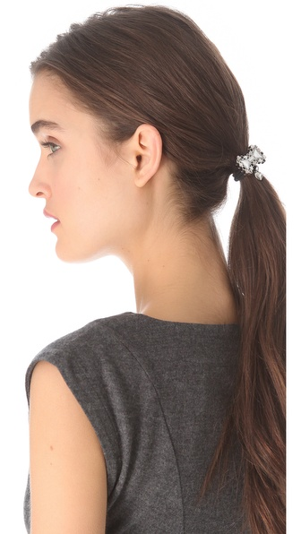 Marc by Marc Jacobs Pave Bow Pony Tie