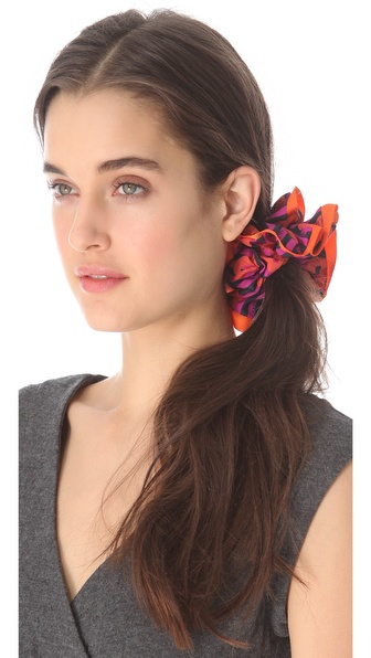 Marc by Marc Jacobs Chou Chou Stripey Lips Scrunchie