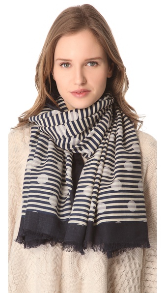 Marc by Marc Jacobs Willa Dot Scarf