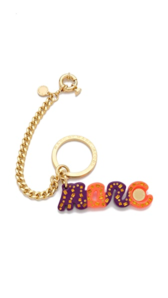 Marc by Marc Jacobs Small Confetti Marc Script Bag Charm
