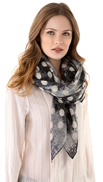 Marc by Marc Jacobs B. Lizard Dot Scarf