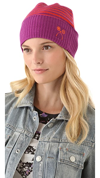 Marc by Marc Jacobs Critter Beanie Hat