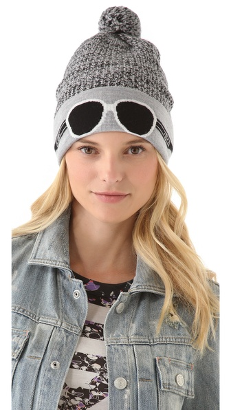 Marc by Marc Jacobs Trompe L'oeil Beanie Hat
