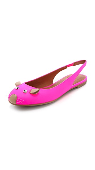 Marc by Marc Jacobs Slingback Mouse Flats