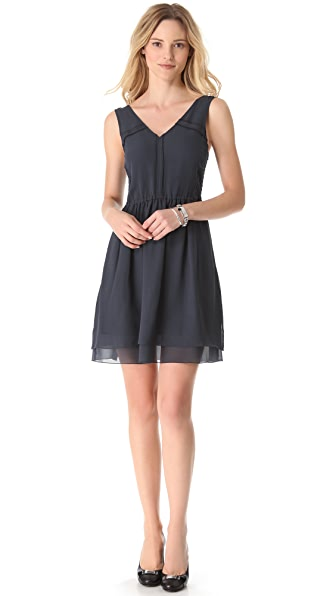 Marc by Marc Jacobs Crystal Textured Silk Dress