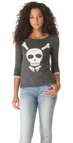Shop Marc by Marc Jacobs Bones About It Tee and Marc by Marc Jacobs online - Apparel,Womens,Tops,Tee, online Store