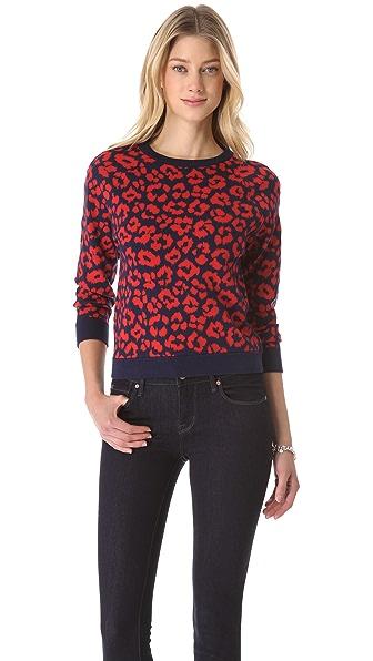 Marc by Marc Jacobs Lita Cheetah Sweater