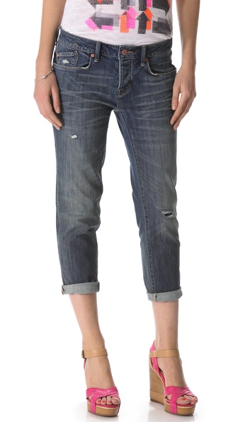 Marc by Marc Jacobs Standard Supply Jessie Boyfriend Crop Jeans