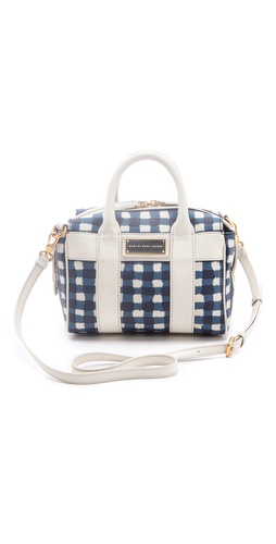 Marc by Marc Jacobs Marc'D & Check'D Mini Satchel at Shopbop.com