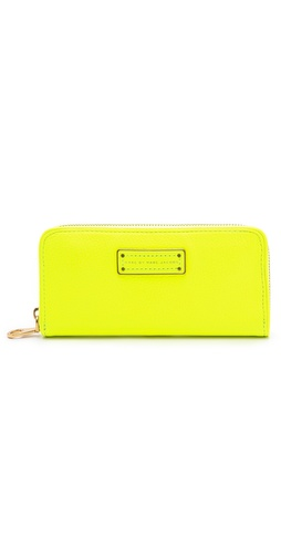 Marc by Marc Jacobs Too Hot to Handle Slim Zip Around Wallet at Shopbop.com