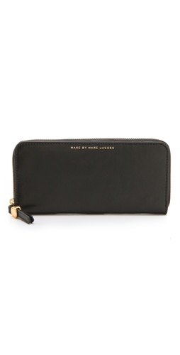 Marc by Marc Jacobs Globetrotter Slim Zip Around Wallet at Shopbop.com