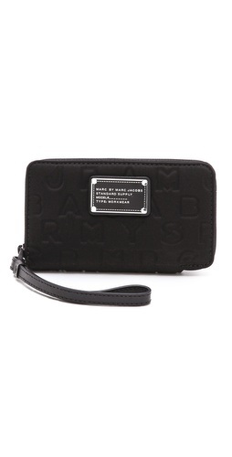 Marc by Marc Jacobs Dreamy Logo Neoprene Wingman Wristlet at Shopbop.com