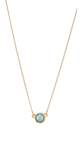 Marc by Marc Jacobs Paste & Prints Tiny Crystal Charm Necklace