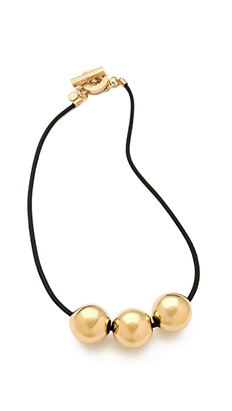 Marc by Marc Jacobs Exploded Bow Ball Necklace