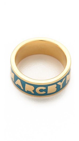 Marc by Marc Jacobs Classic Marc Dreamy Logo Ring